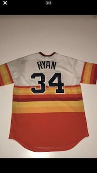 AUTHENTIC NOLAN RYAN JERSEY  Houston, 77066