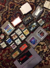 Game boy Nintendo ds lot of games Pokémon nes lord of the rings  New Tecumseth, L9R 2A9