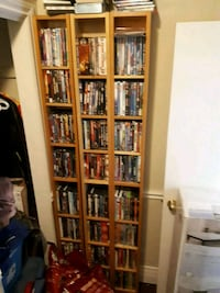 Approximately 360 DVDs cases included obo Hamilton, L9A 4P7