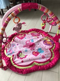 Pink play mat with accessories  Edmonton, T6V 0H3
