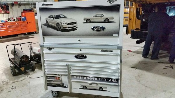 Mustang 50 Years Snap On Tool Box