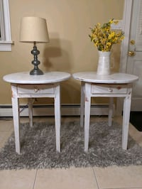 2 end tables or nightstands Saugus, 01906