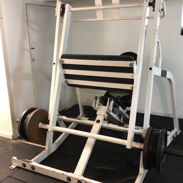 Leg Press For Sale >> Hammer Strength Commercial Horizontal Plate Loaded Leg Press