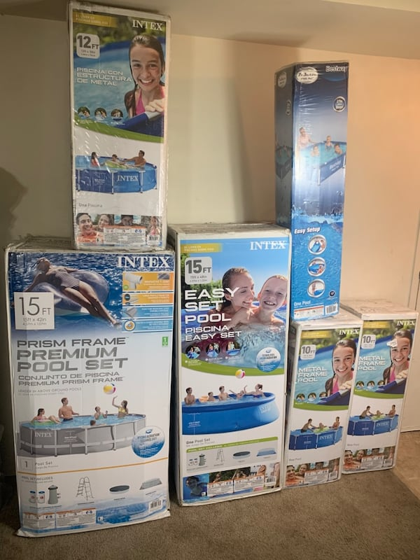 New Intex & Bestway Pools! (Read Description For Prices & Details) 0