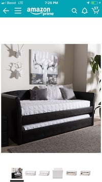 Twin size trundle bed  Gary