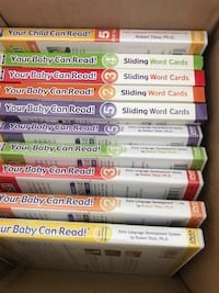 Baby can read DVD and teaching cards delux kit North Port, 34286