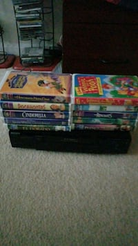 Walt Disney VHS COLLECTION/SONY HIFI VCR Ashburn, 20148