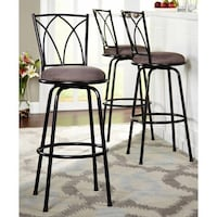 Delta Adjustable Metal Barstools, 3-Piece Set, Black Brand New In Box.  $65 Contact for more info thanks! Rochester, 14607