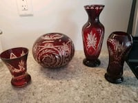 European decor vases  Milton, L9T 1P7
