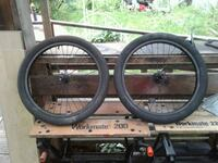 black and gray bicycle wheel Langley, V2Z 1W9