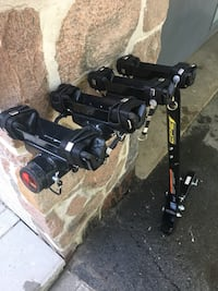 4x bicycle rack. Heavy duty CPE trailer hitch rack. Excellent condition  Toronto, M9C 2T8