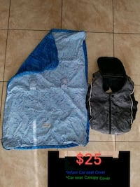 Infant carseat cover and carseat canopy cover  Las Vegas, 89120