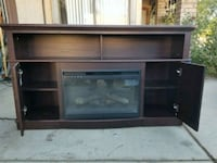 Tv stand with fireplace Littlerock, 93543