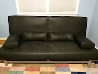 Black futon couch - for pick up
