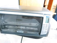 Black and decker toaster/convection oven North Little Rock, 72116