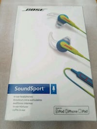 Bose Soundsport Wired earphones. New n sealed San Leandro, 94579