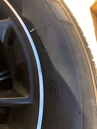 16 inch rims and tires all center caps obo  Avondale, 85323