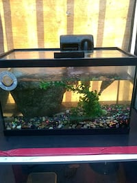 Fish tank with filter and extras  Los Angeles, 90011