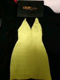 Celeb Boutique S-M Green Dress  Toronto, M6P 4G3