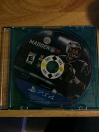 Sony PS4 Madden NFL 18 game disc Stafford, 22556