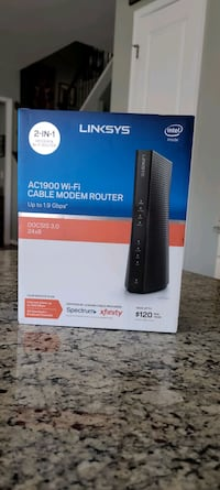 Linksys AC1900 Wi-Fi Cable Modem Router  Woodbridge, 22192
