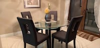 Dining table with four chairs  Kitchener, N2R 1W9