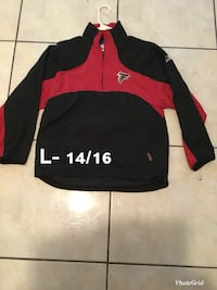black and red zip-up jacket Brownsville, 78521