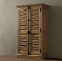 Double door cabinet RESTORATION HARDWARE null