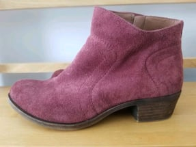 LUCKY BRAND Brolley Bootie, shoes, size 6M/36, Bor