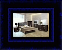 B120 11pc bedroom set with mattress Gaithersburg