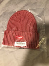 Supreme Overdyed Red Beanie