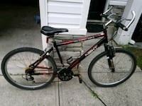 black and red hardtail mountain bike Austell, 30168