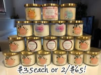 $35each or 2/$65 charmed aroma candles Edmonton, T5P 4W3