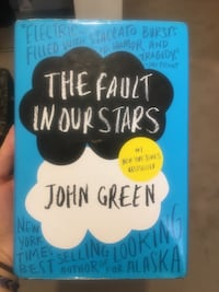 The Fault in our Stars by John Green book Calgary, T3G 1P3