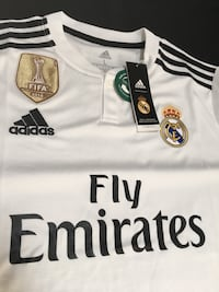 Real Madrid 2018-19 Home Jersey - White South Gate, 90280