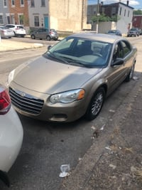 2004 Sebring Chrysler! Clean inside & Out! Drives Smooth No light on dash needs a Motor mount, I have the piece, didn't get a chance to put it in. Ac & Heat works. Engine Good! 141 on dash  null