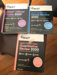 Gmat 2020 review books Centreville, 20120