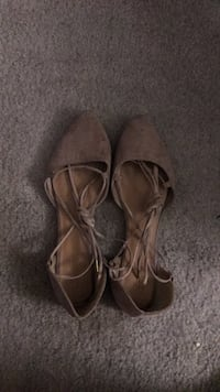Nude tie-up flats  Cape Coral, 33990