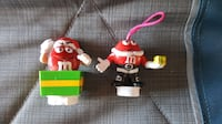 M&M's collectible Christmas candy Toppers 2012. Winchester, 22601