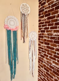 Trendy doilies dream catchers $25 each Clarksville, 37042