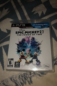 Epic Mickey 2 PS3 game  Vaughan, L4K 5W4
