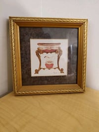 Small Vintage Style Frame and Painting