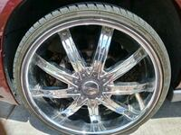 22's inch DCENT chrome rims North Las Vegas, 89030