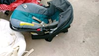 baby's blue and black car seat carrier San Antonio, 78237