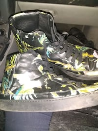 Gucci tropical men's leather high tops . Portland, 97217