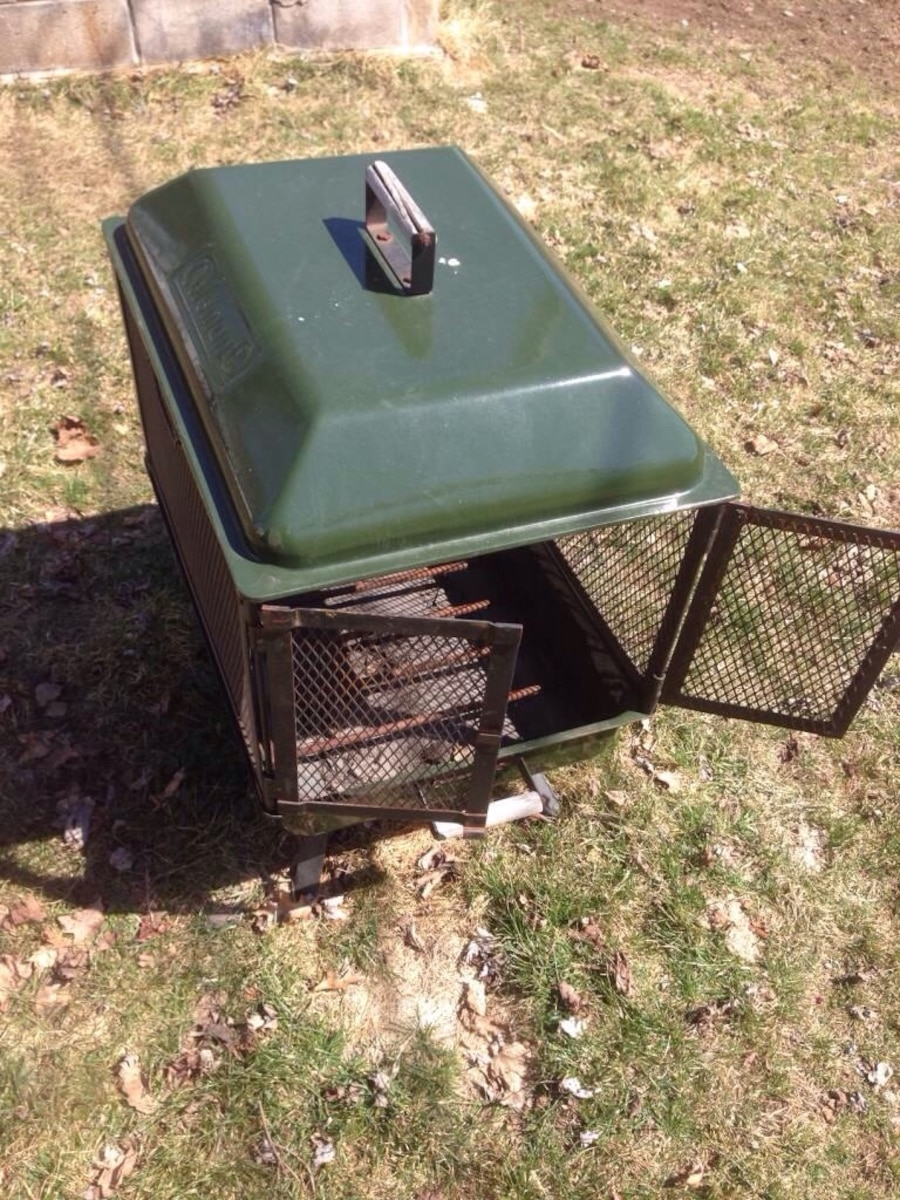 - Used Coleman Collapsible Fire Pit In Breitung