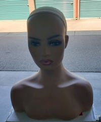 Mannequin L7 Female Head Bust for Wig Display