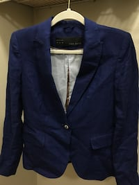 Medium Blue Zara Jacket Houston, 77042
