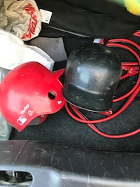 Red and black baseball helmet Winnipeg, R3R 1W1