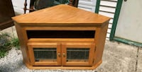 brown wooden  TV stand/ corner table Oak Forest, 60452